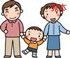 パステルイラスト集 Vol.1 家族のイラスト