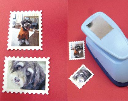 切手スタンプ・長方形