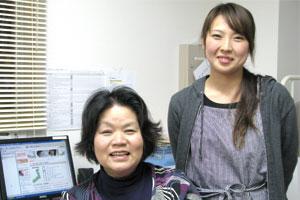求人サイト「求人情報ナビ+V」が縁で出会った高橋園長と保育士の古川さん