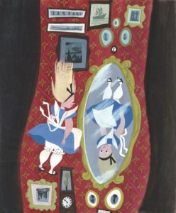 「ふしぎの国のアリス」コンセプト・アート 1951 年 © Disney Enterpriases,Inc.