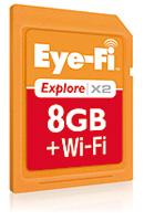 無線LAN内蔵「Eye-Fi」