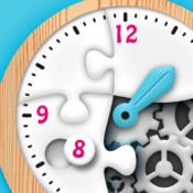時計くみたてパズル- 楽しく学ぶ!時計の読み方