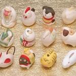 干支のウサギデザイン