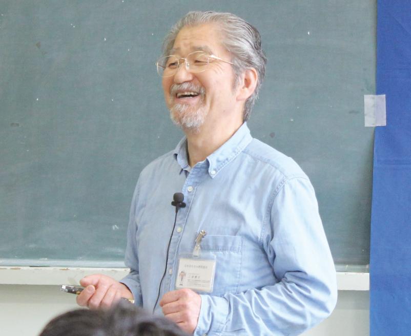 会長の三浦康夫氏