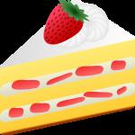 イラスト「ケーキ」