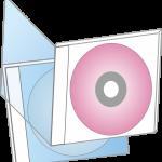 イラスト「CD-ROM」