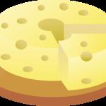 イラスト「チーズ」