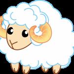 イラスト「羊」