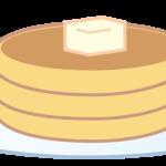 イラスト「ホットケーキ」