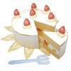ペパクラ「ショートケーキ」