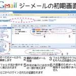 Gmailの初期画面