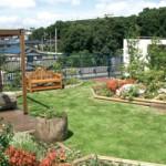 渋谷区役所神南分庁舎の屋上庭園に学んだ、むくどり保育園の屋上庭園