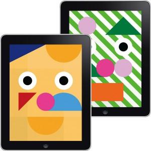 アプリ「色とカタチでお面をデザイン!WA!SK」