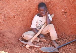 ザンビアのマスントゥ君