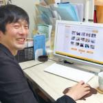 経営している5つの園すべての写真を管理する中村氏。子どもたちの素敵な表情を写真におさめるために、先生たちは納得がいくまで撮影を重ねている
