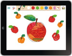 アプリはらぺこあおむし きりえ 幼稚園保育園の先生が読む