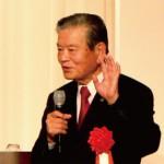 特別講演の川淵三郎氏