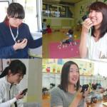和歌山ひかり幼稚園と武里白百合幼稚園・第2白百合幼稚園の職員は防災ツールのIP無線機を利用。クラスルームやバスの中、職員室などで、園内の様子を把握