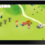 アプリ「くまのがっこう箱庭ゲーム」